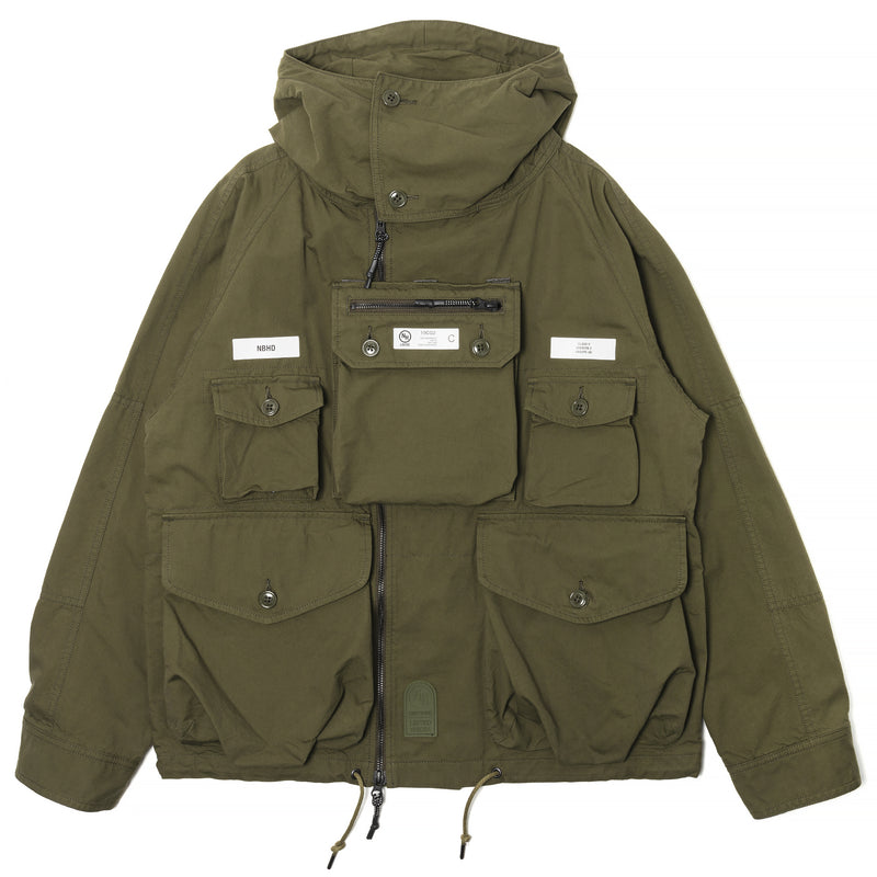 Neighborhood Tactical Smock Olive Drab