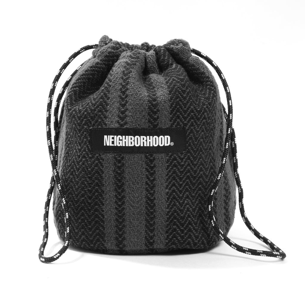Neighborhood Weaving Pouch Black