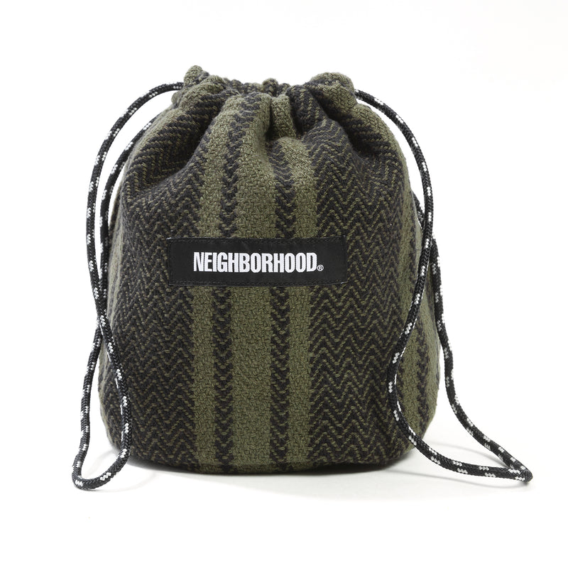 Neighborhood Weaving Pouch Olive Drab