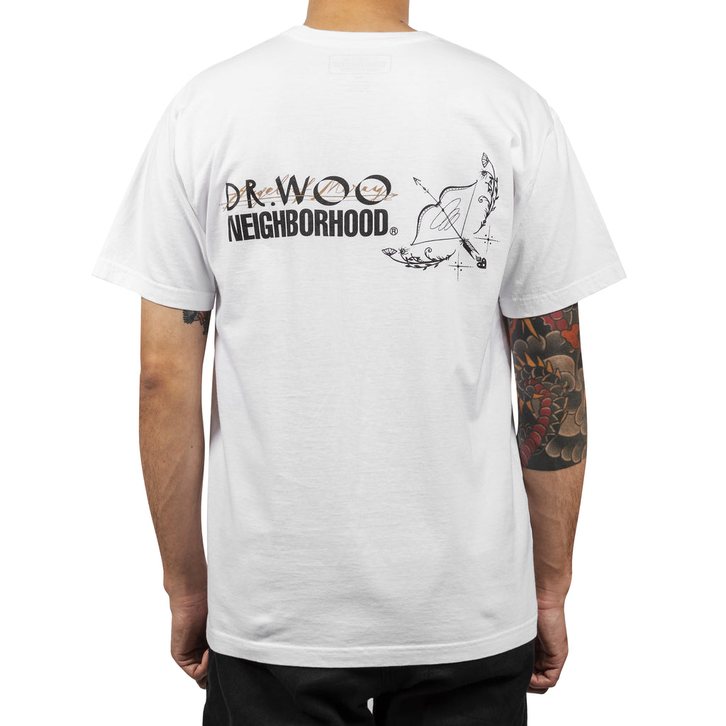 Neighborhood x Dr. Woo-1 T-Shirt White