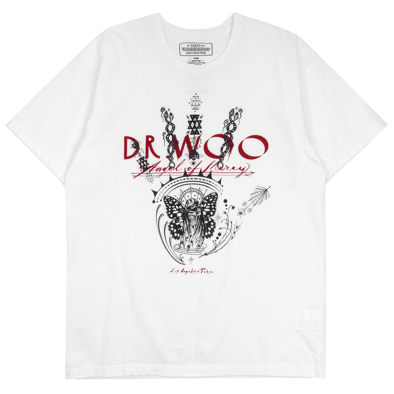 Neighborhood x Dr. Woo-2 T-Shirt White