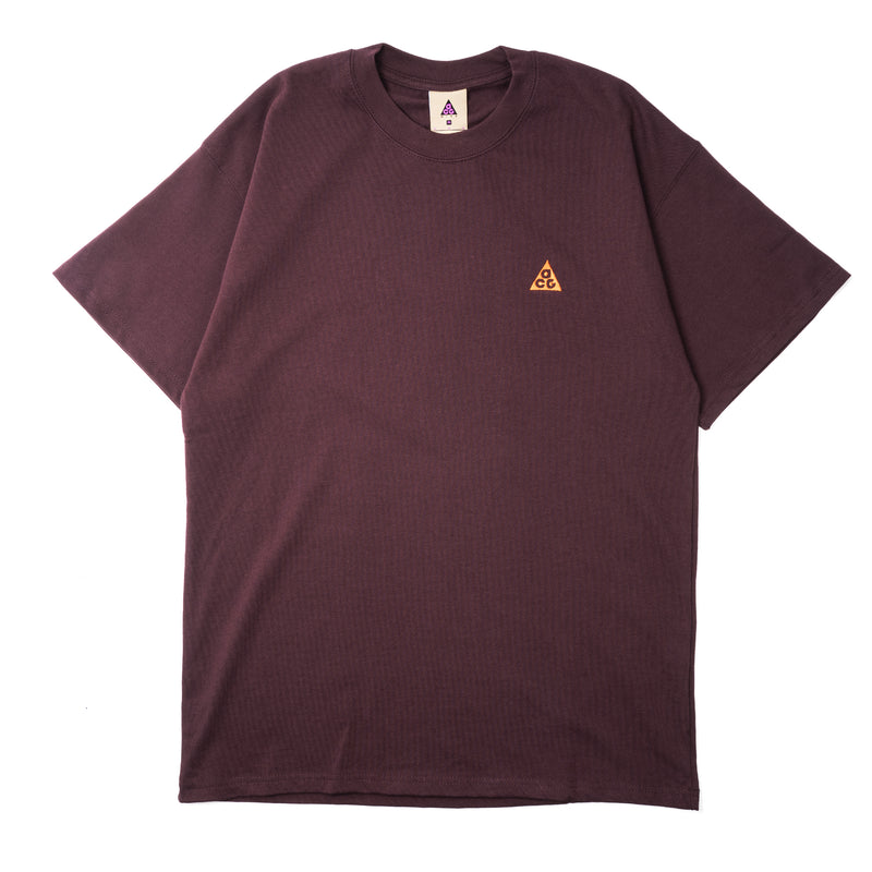 Nike ACG T-Shirt Deep Burgundy Team Orange