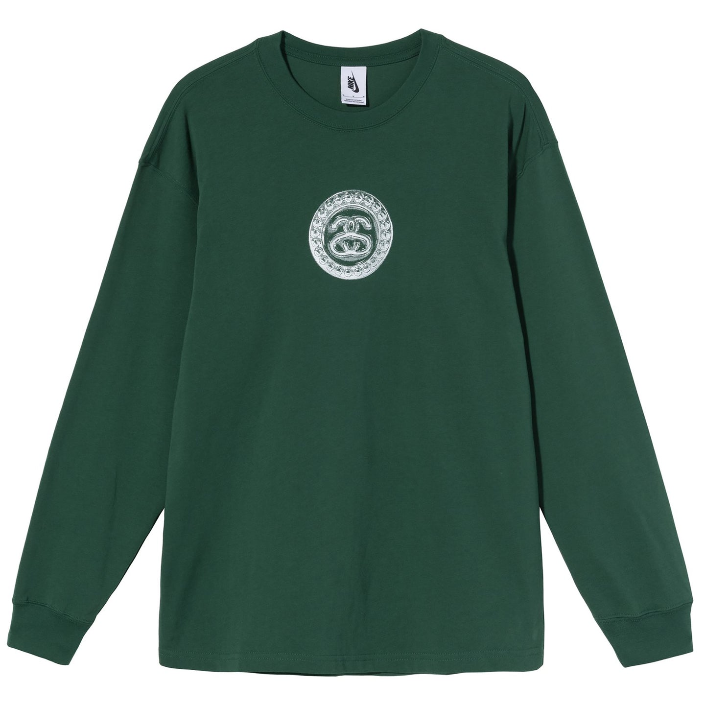 Nike x Stussy Long Sleeve Link T-Shirt Pine Green