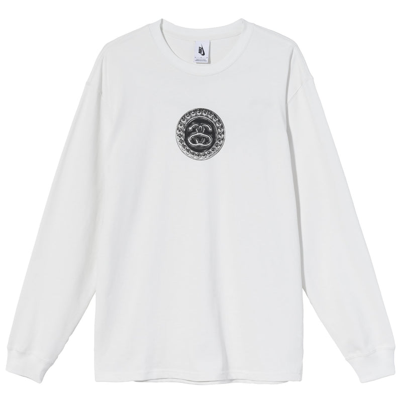 Nike x Stussy Long Sleeve Link T-Shirt Summit White