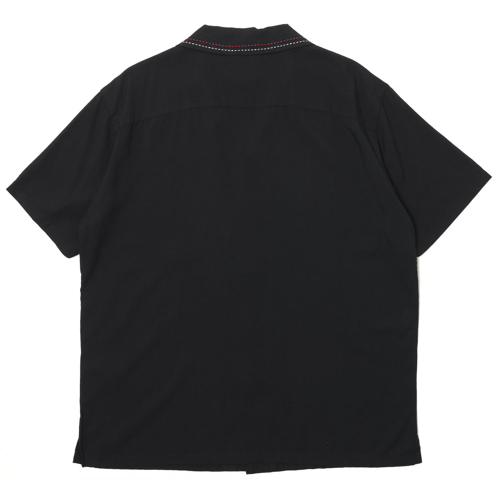 Rats Black Rayon Shirt Black
