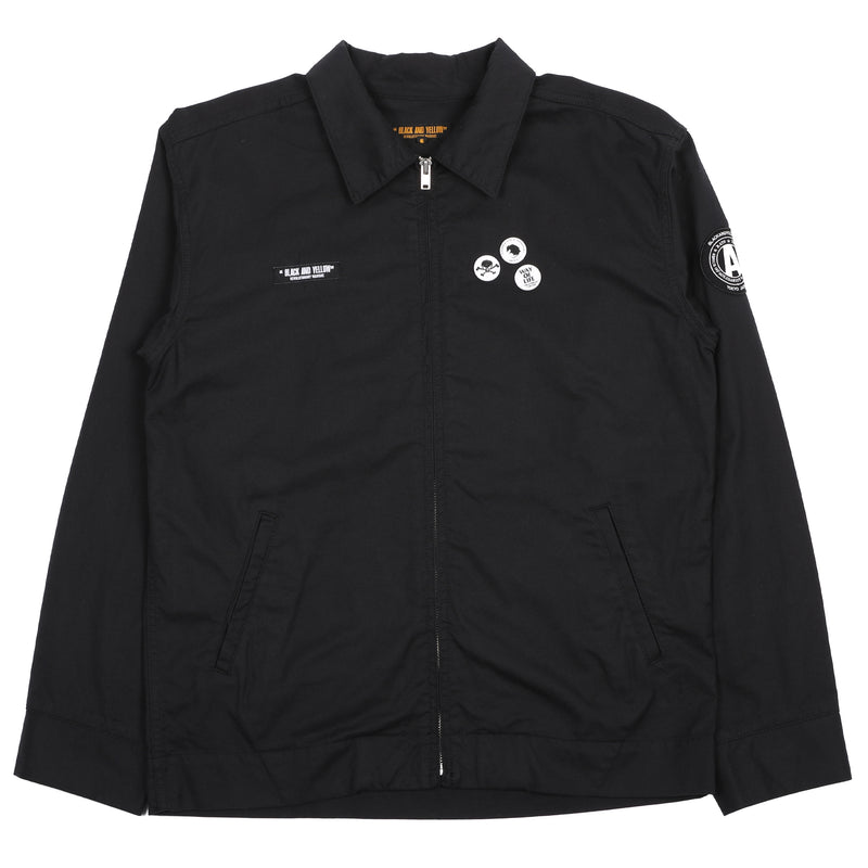 Rats Anarchy Jacket Black