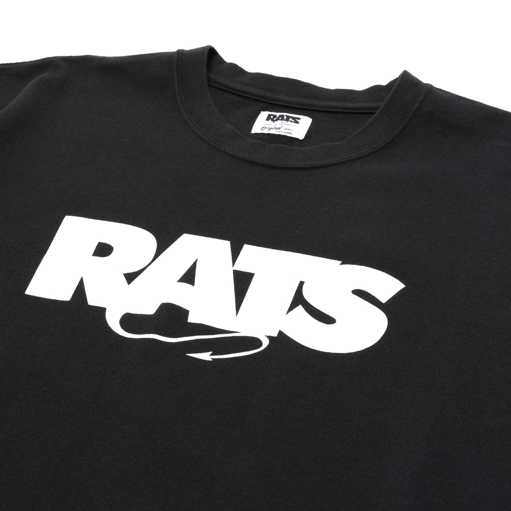 Rats Box Logo Tee Black