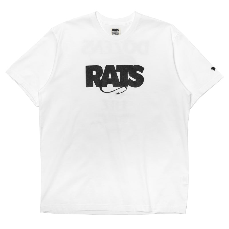 Rats Box Logo Tee White
