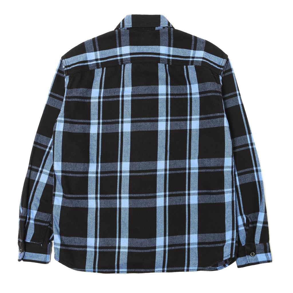 Rats Cotton Check Shirt Blue Check