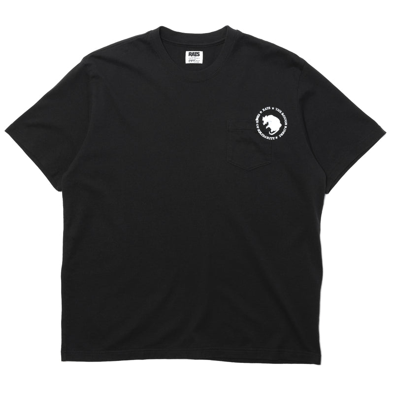 Rats Dozens Pocket Tee Black