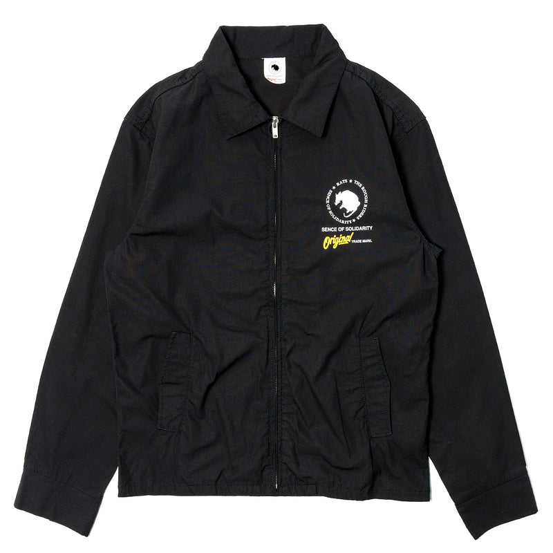 Rats Dozens Swing Top Jacket Black