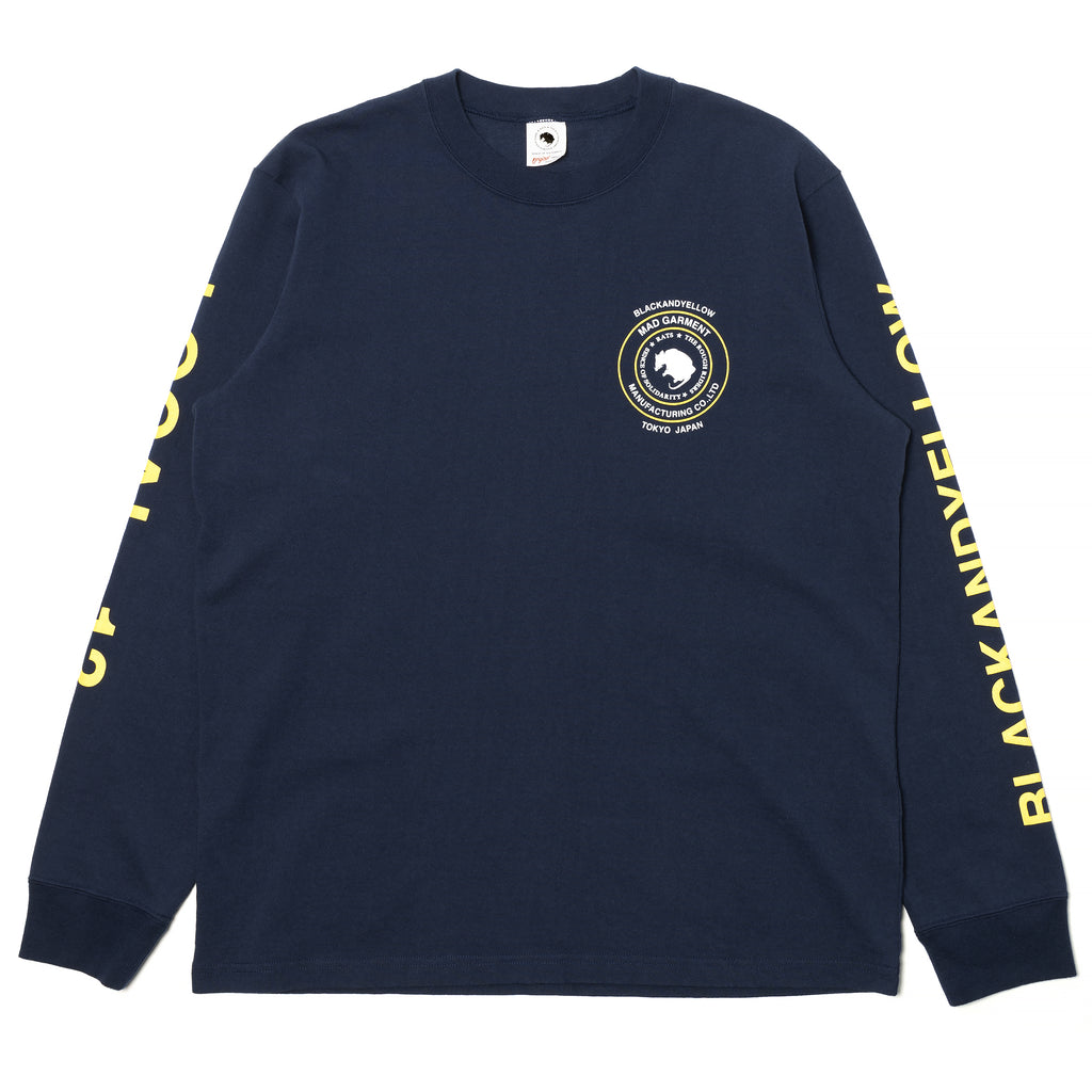 Rats Local 13 L/S Shirt Navy