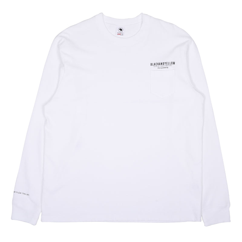 Rats MGM L/S T-Shirt White