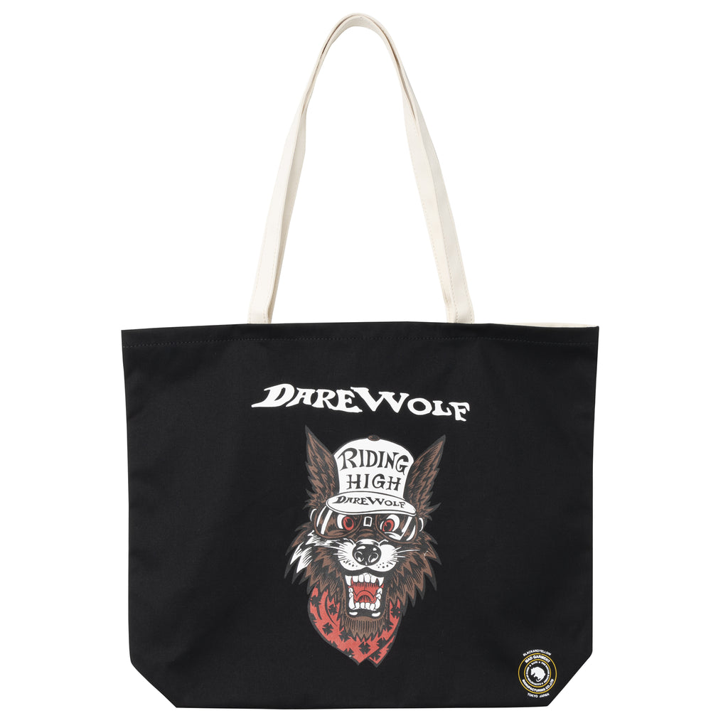 "Rats My Bag ""Dare Wolf"" Tote Black"