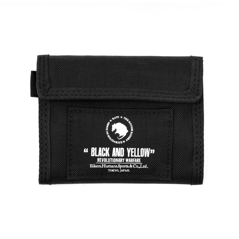 Rats Nylon Wallet Black