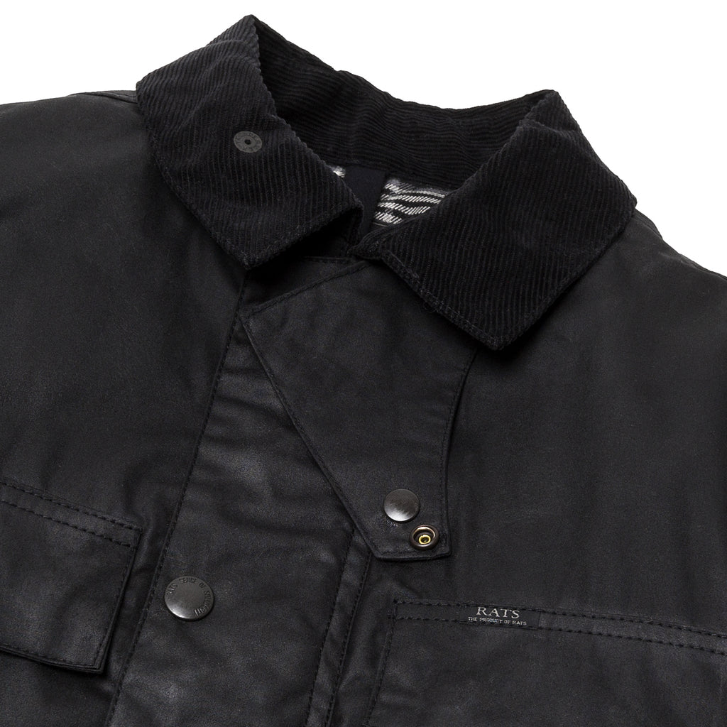 Rats Oiled Jacket Black