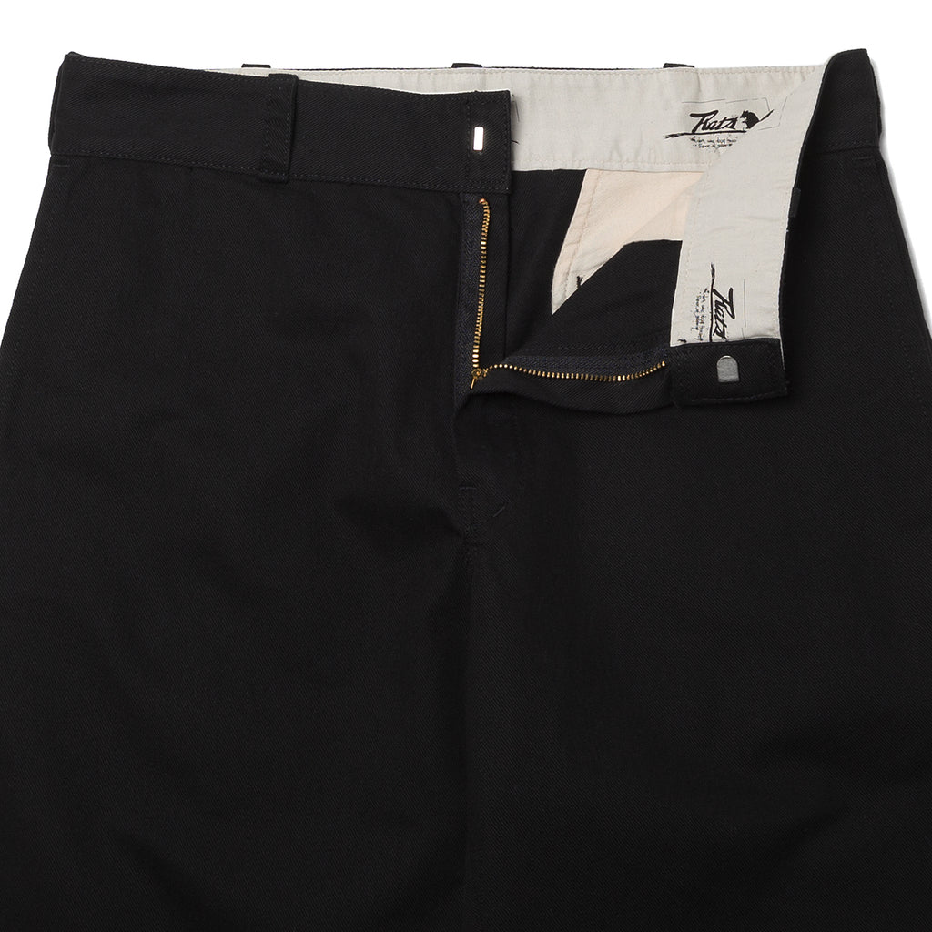 Rats Old 55 Work Pants Black