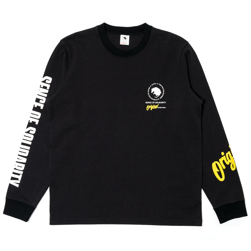 Rats Original L/S Shirt Black