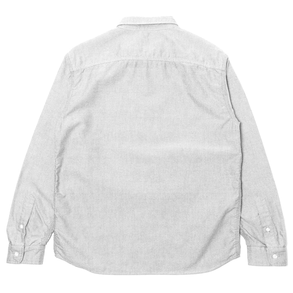 Rats Oxford B.D Shirt Gray