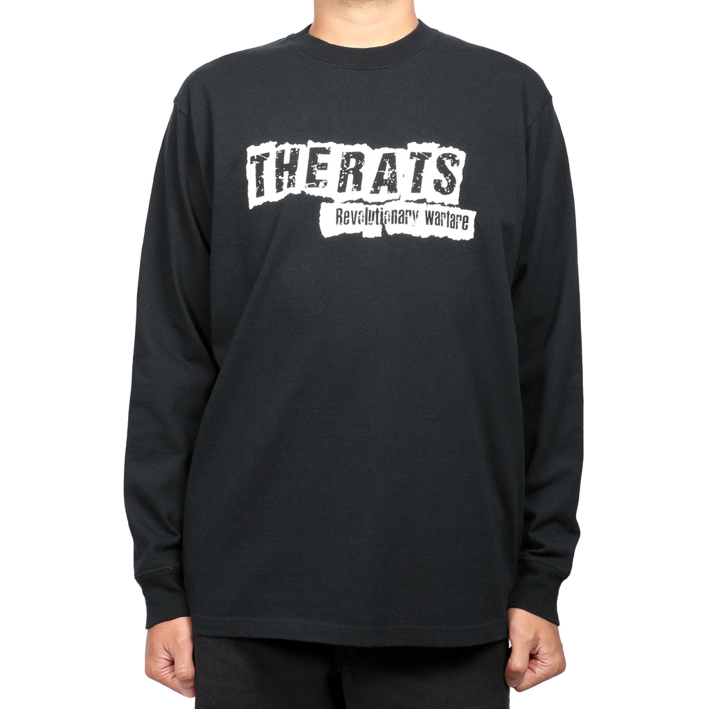 Rats Punk L/S Shirt Black