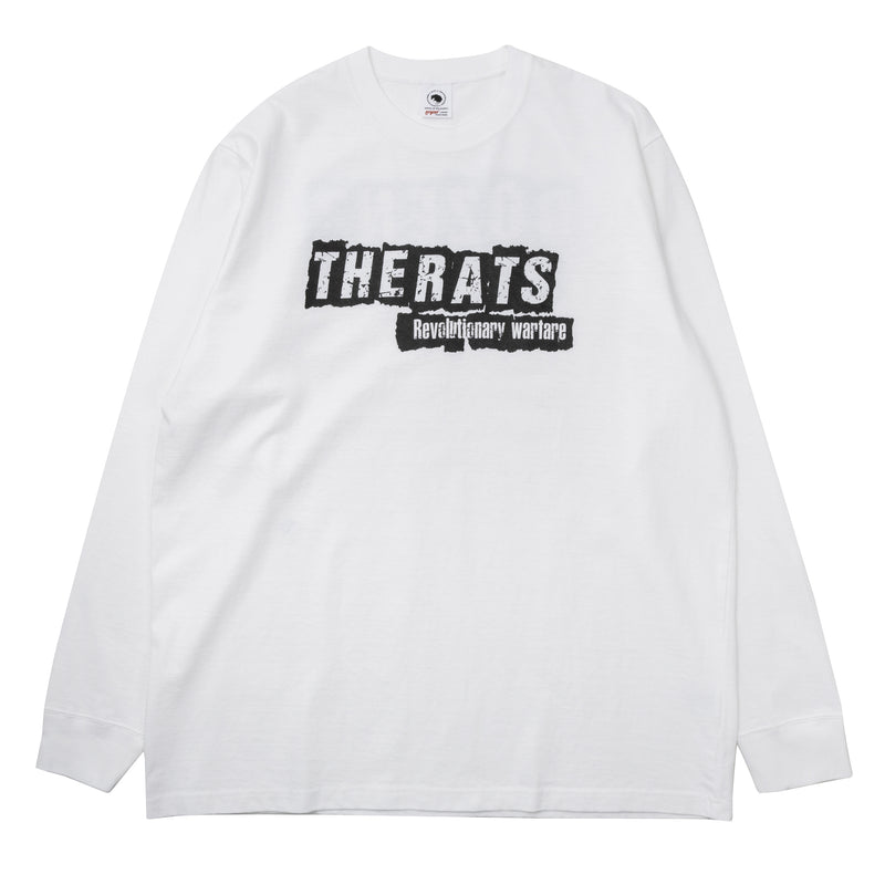 Rats Punk L/S Shirt White