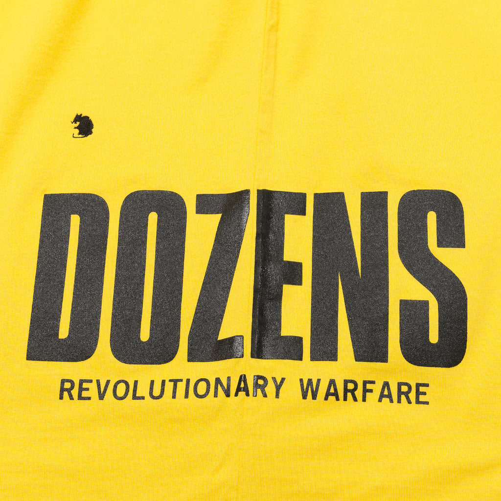 Rats Side Dozens Pocket Tee Yellow
