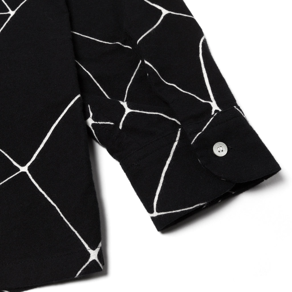 Rats Spiderweb Print Shirt Black