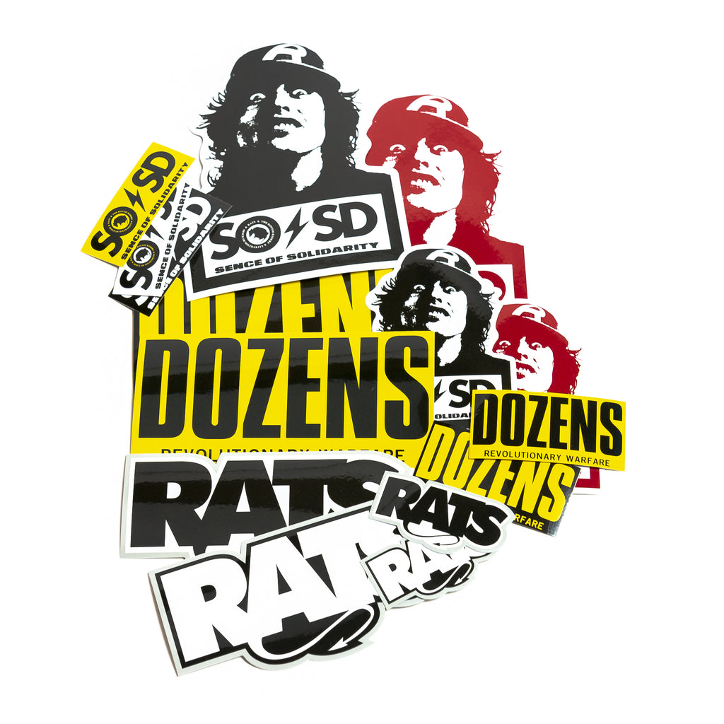 Rats Sticker Pack
