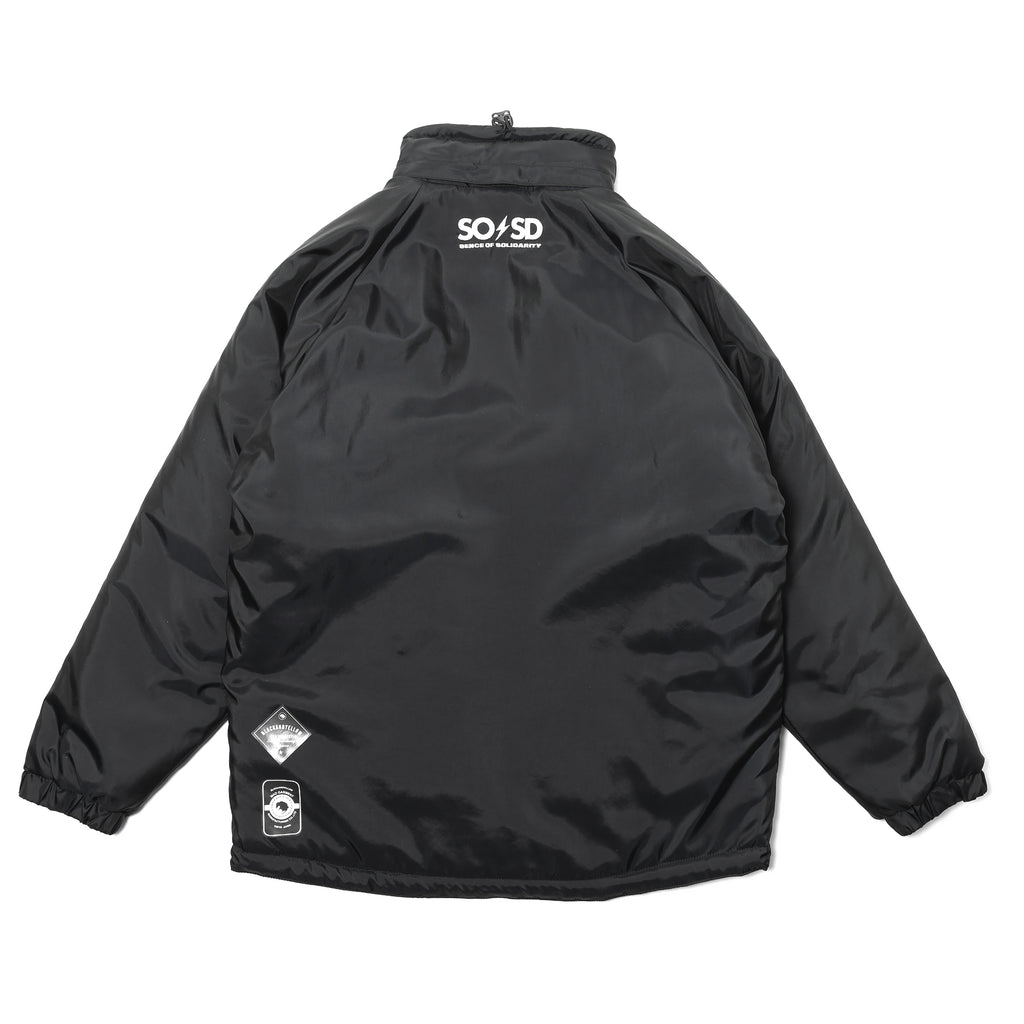 Rats Trainer Jacket Black