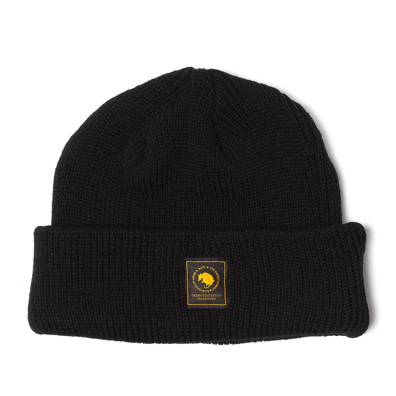 Rats Wool Knit Cap Black