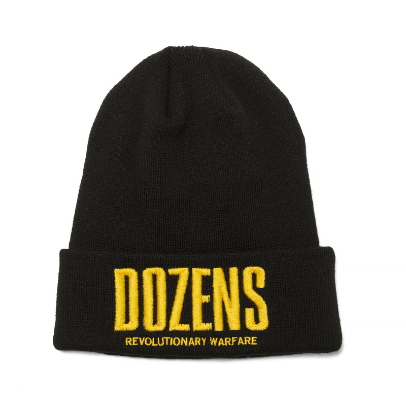 Rats Zones Knit Cap Black