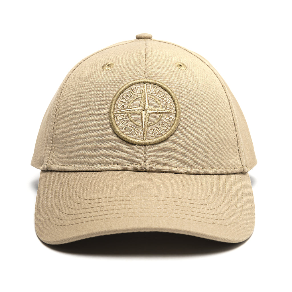 Stone Island Cotton Rep Cap Khaki