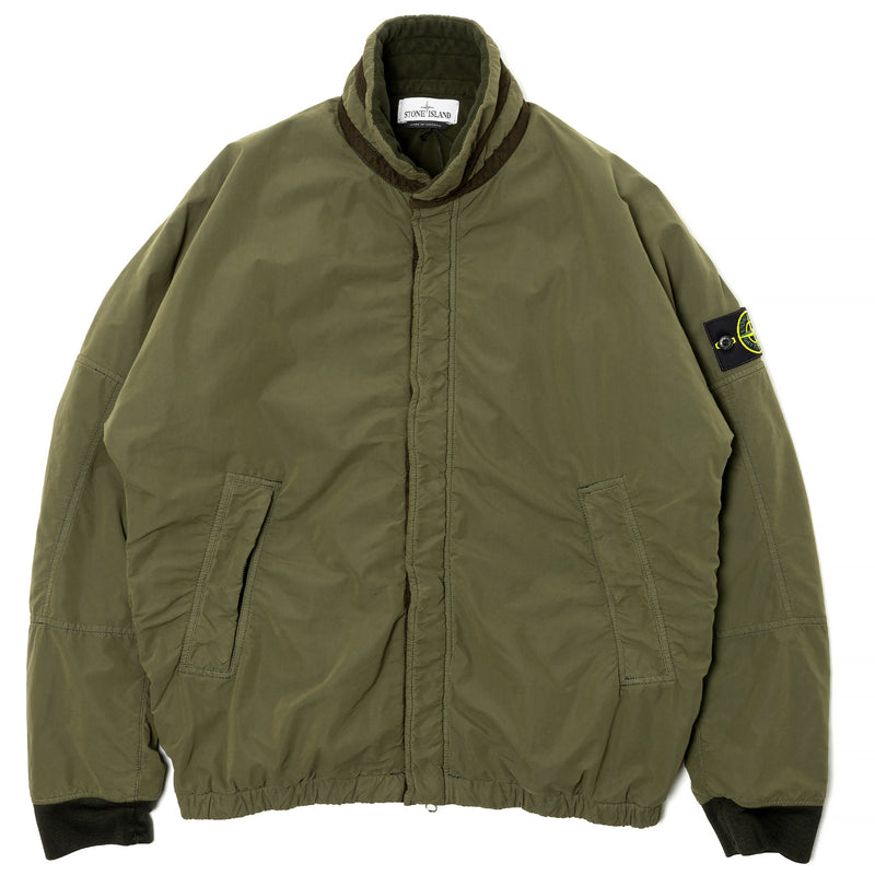 Stone Island David Light-TC Micropile Jacket Olive Drab