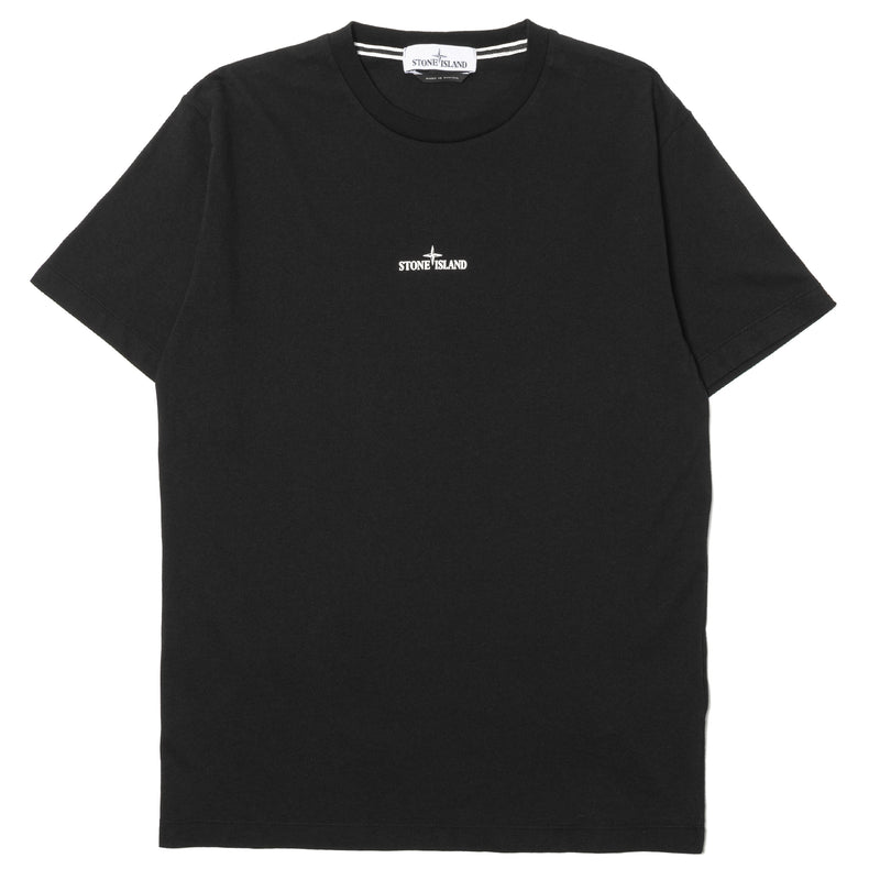 Stone Island Drone Two Cotton T-Shirt Black