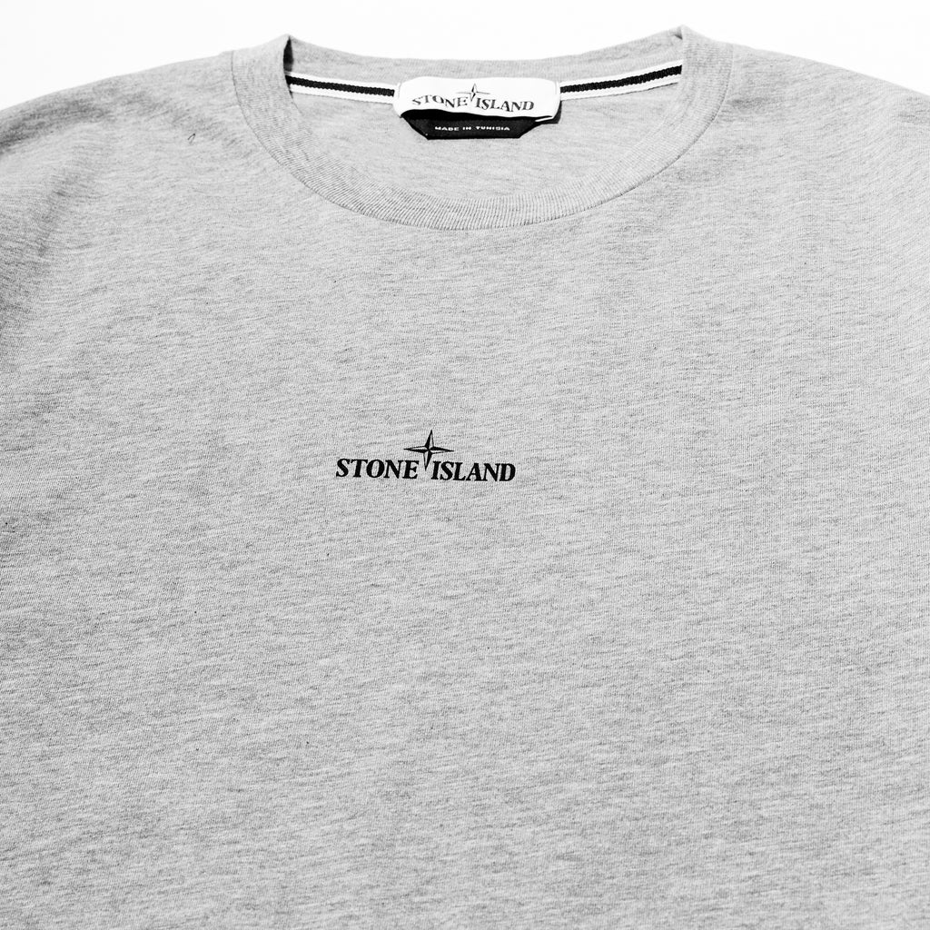 Stone Island Drone Two Cotton T-Shirt Grey
