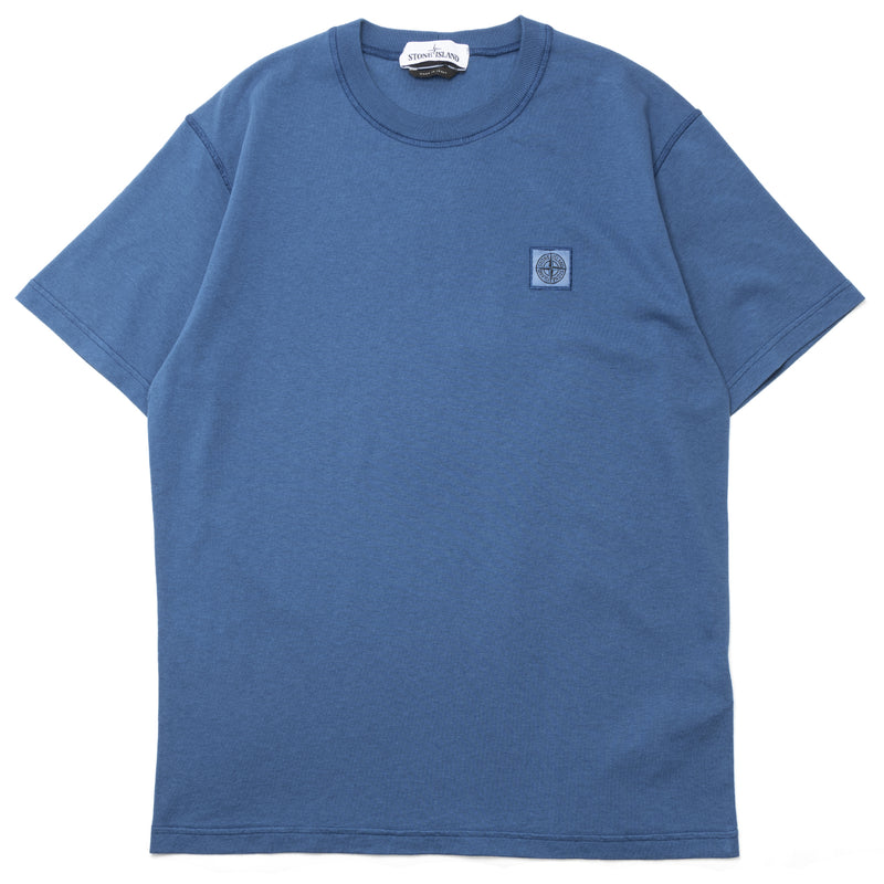 Stone Island Fissato Dye Treatment T-Shirt Periwinkle