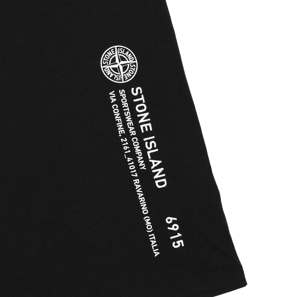 Stone Island Industrial 2 T-Shirt Black