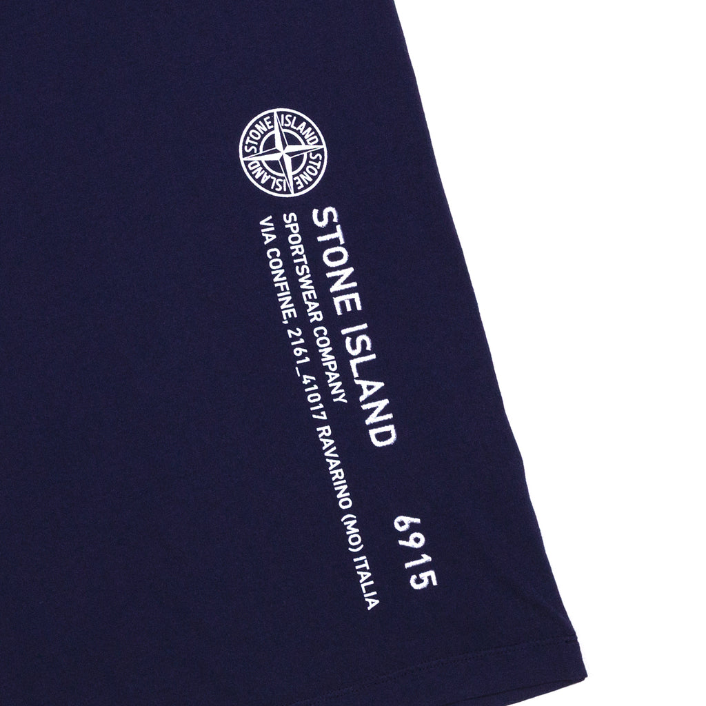 Stone Island Industrial 2 T-Shirt Navy