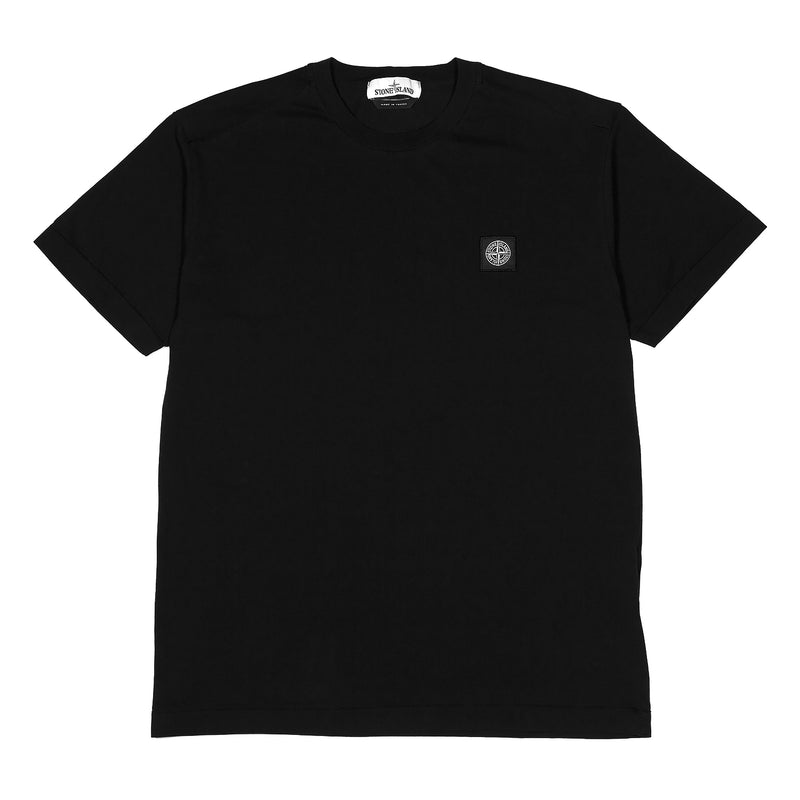 Stone Island Mako Cotton T-Shirt Black
