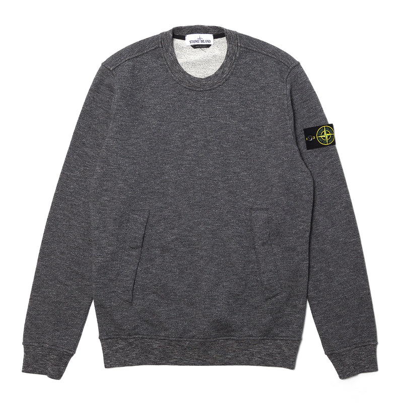 Stone Island Mouline Fleece Sweatshirt Anthracite