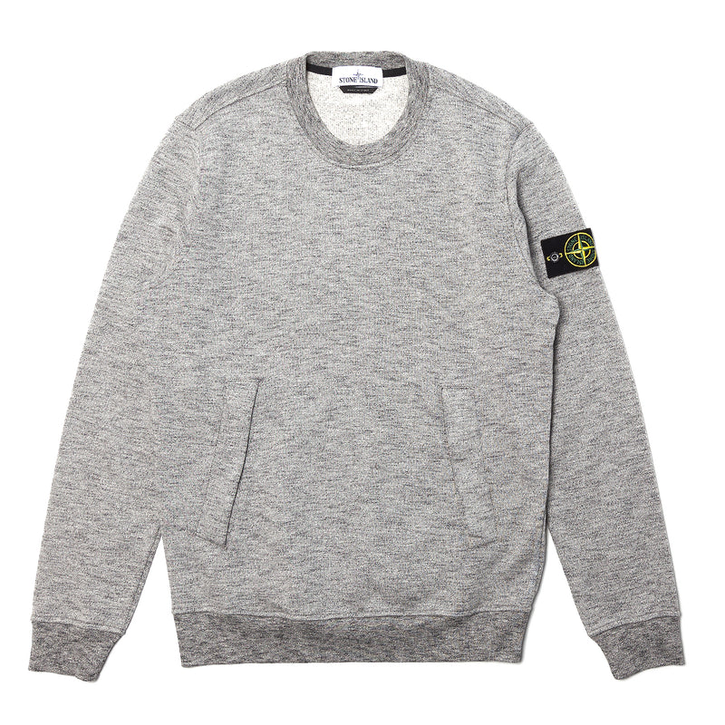 Stone Island Mouline Fleece Sweatshirt Grey