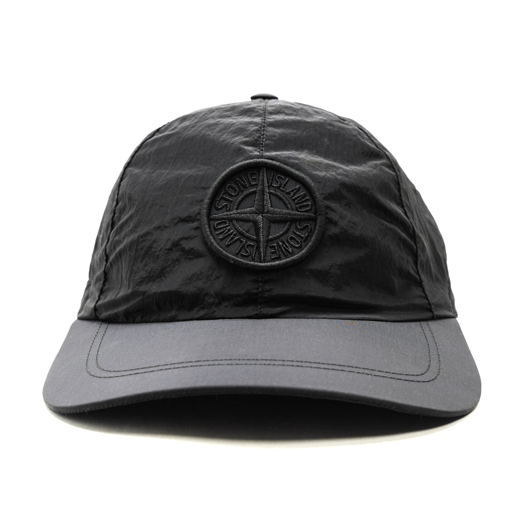 Stone Island Nylon Metal Hat Black
