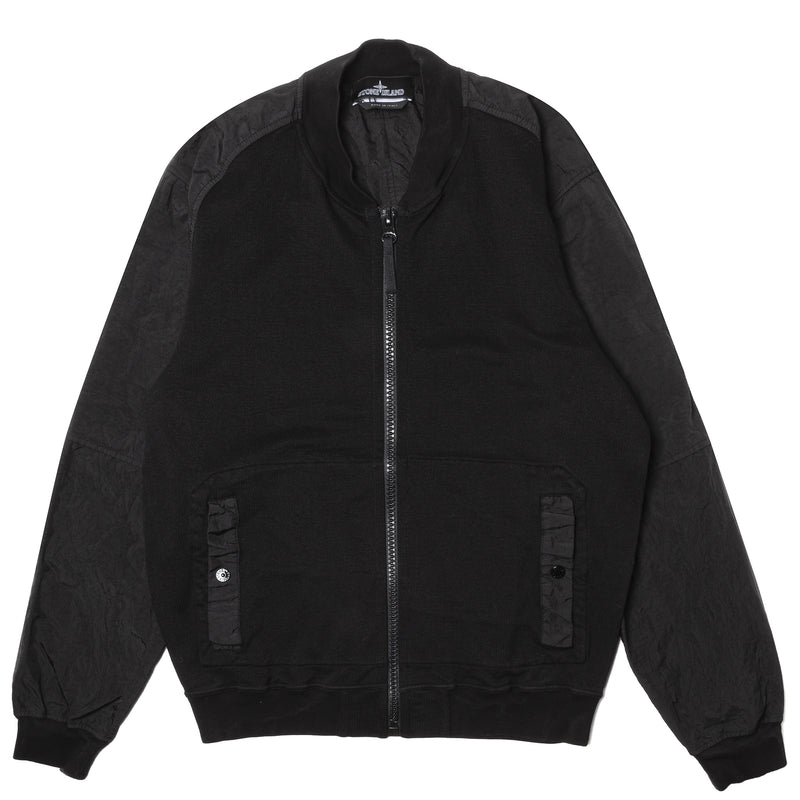 Stone Island Shadow Project Compact Bomber Jacket Black