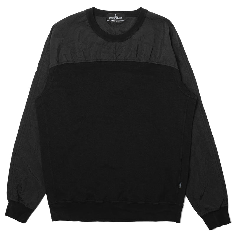 Stone Island Shadow Project Compact Crewneck Black