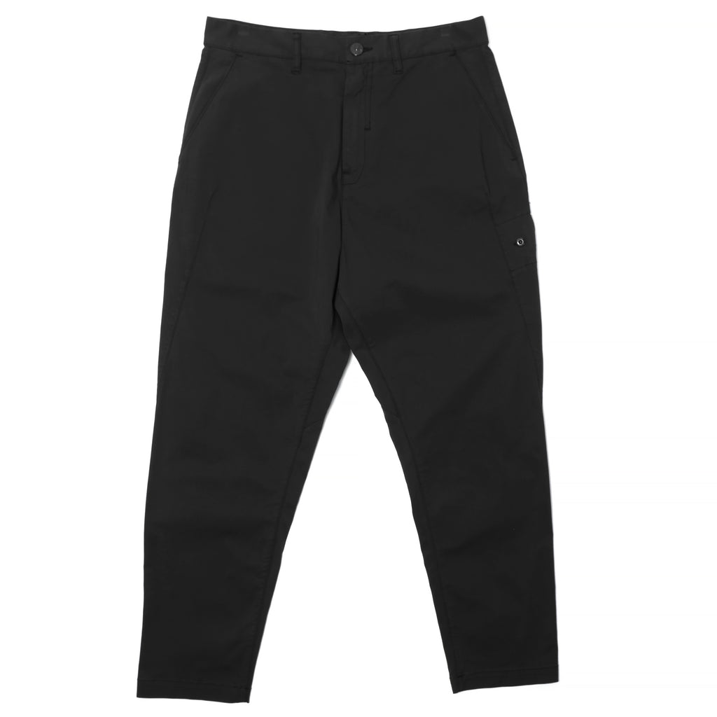 Stone Island Shadow Project Cotton Nylon Gabardine Wide Pants Black
