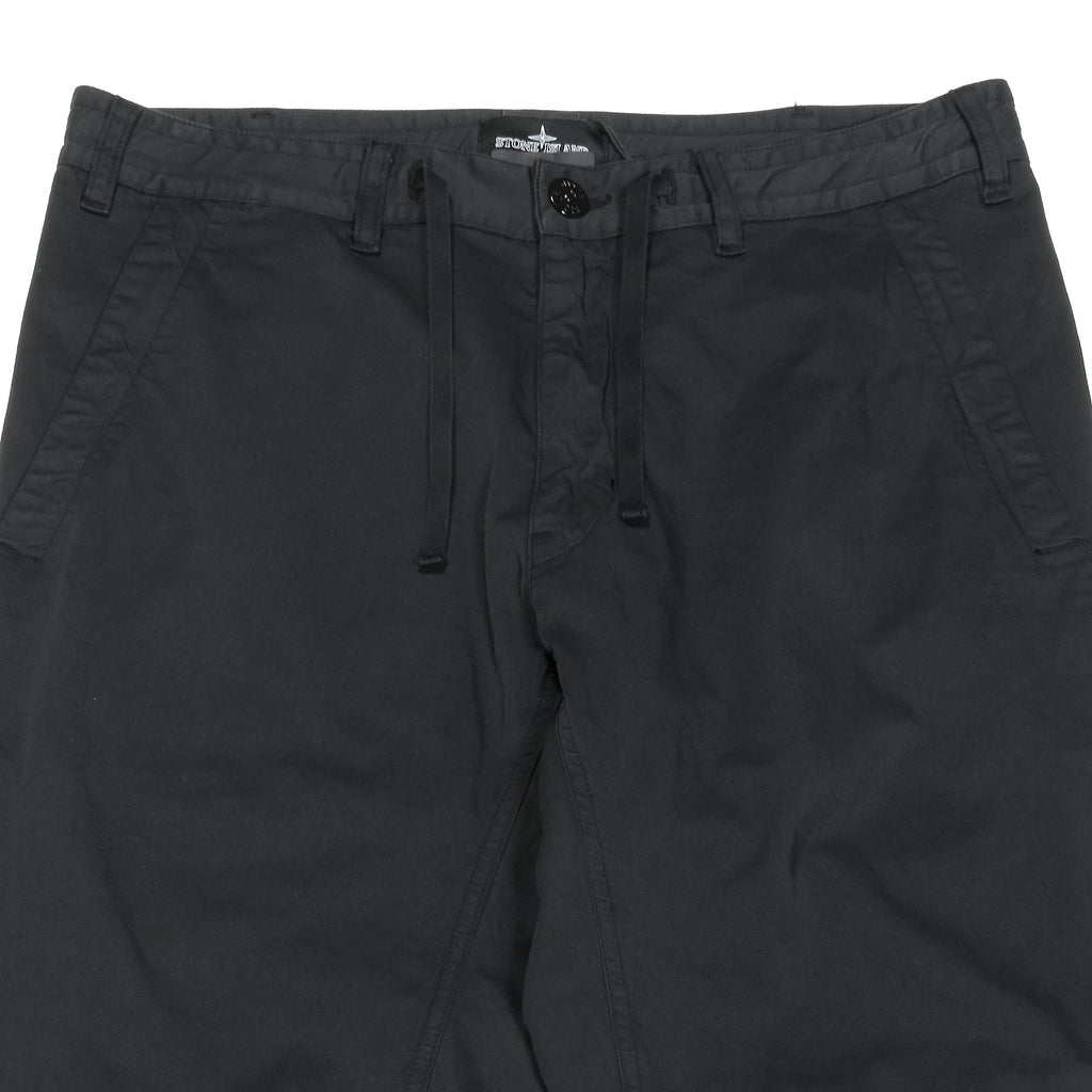 Stone Island Shadow Project Drawstring Leisure Pants Black