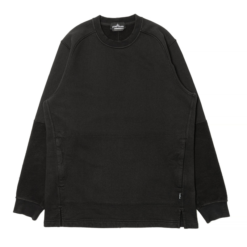 Stone Island Shadow Project Invert Crewneck Black