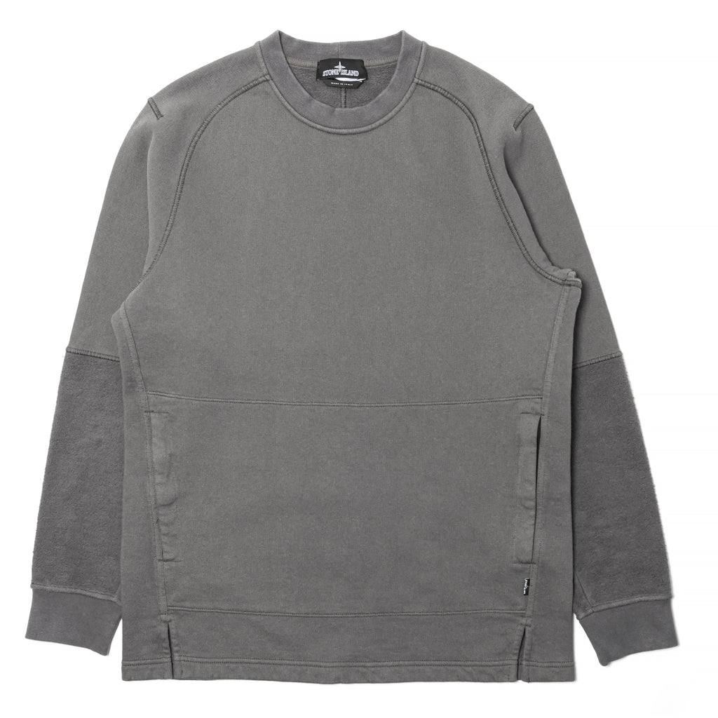 Stone Island Shadow Project Invert Crewneck Grey