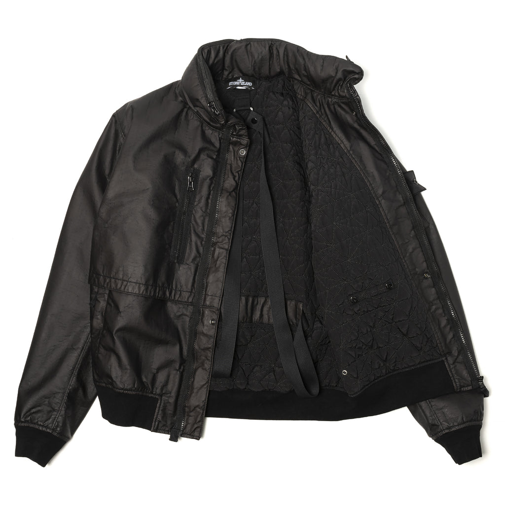 Stone Island Shadow Project Lasered Poly-Hide 2L Jacket Black