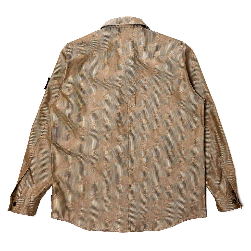 Stone Island Shadow Project Lenticular Jacquard Shirt Jacket